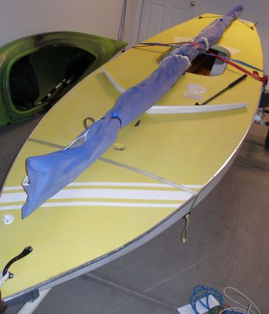 Sunfish Sailboat with Trailer - $1000 (Prescott Valley)