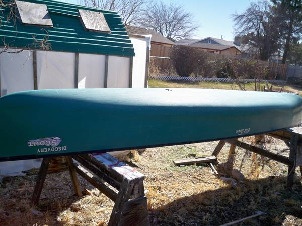 Old Town Discovery Scout Canoe - $450 (Cottonwood)