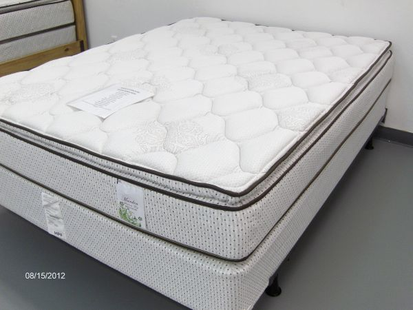 NEW Pillow Top Queen mattress foundation - $299 (Wades Furniture)