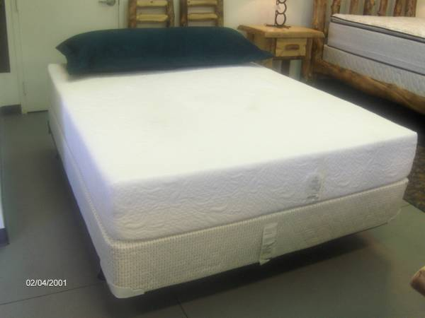 NEW Memory Foam Queen mattress set - $599 (Wades Furniture)