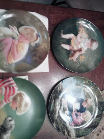Donald zolan collective plates - $180 (prescott valley)