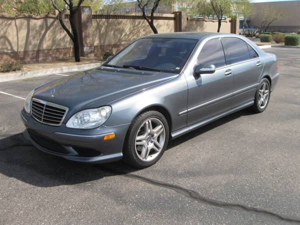 2006 Mercedes Benz S500 S-Class - AMG Wheel Package - $11500 (Scottsdale)