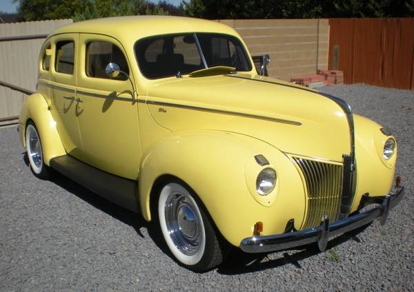 1940 Ford 4 Door Sedan Street Rod - $16000 (Chino Valley, Arizona)
