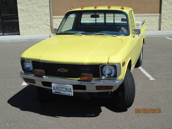 1980 Chevy LUV 4X4 - $2900 (Prescott Valley)