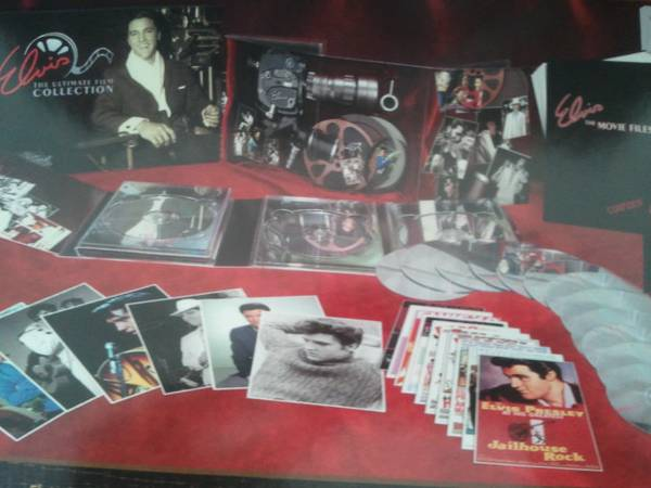 Elvis Ultimate Fan Collection- Movies, Music, Pictures, More - $75 (PCC (Dewey))