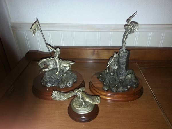 Don Polland Pewter Sculpters for sale or trade