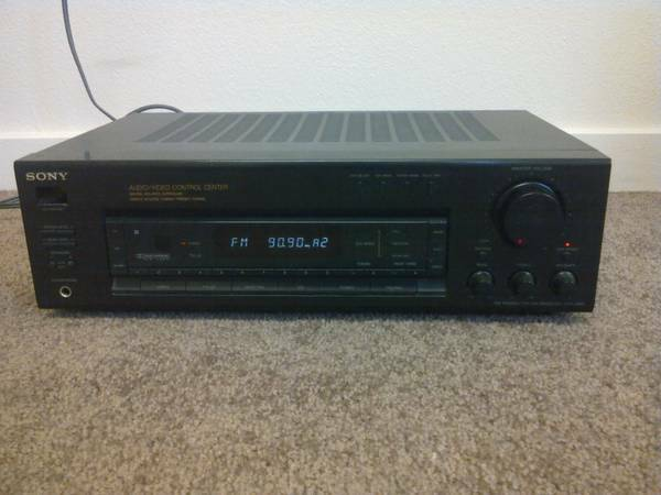Sony Receiver and Speakers (Williamson Valley)