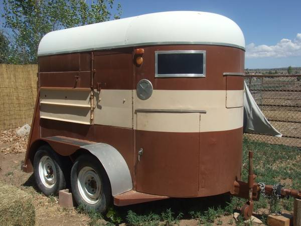 2 Horse Trailer - HALE Bumper Pull - $1400 (Chino Valley)