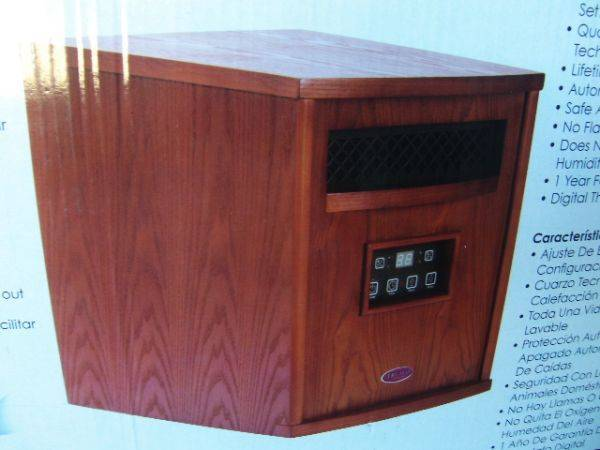 Truman Infrared Heater - $85 (Country Club University)