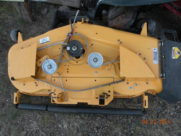 Cub Cadet Mower Deck Replacement : Cub cadet mower deck for sale