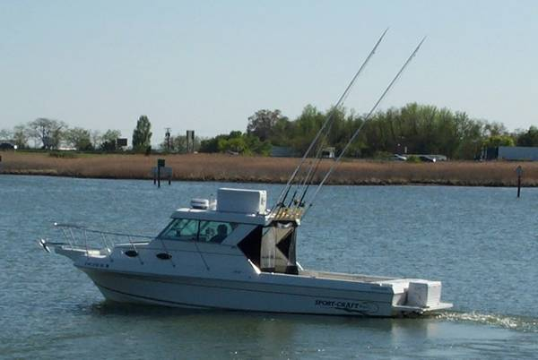 27 SPORTCRAFT 272 FISHING BOAT - $24900 (PUEBLO RESERVOIR, CO.)