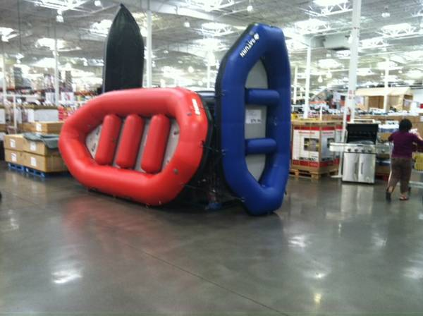 Commercial Whitewater Rafts and Boats at COSTCO - $800 (South Salt Lake)