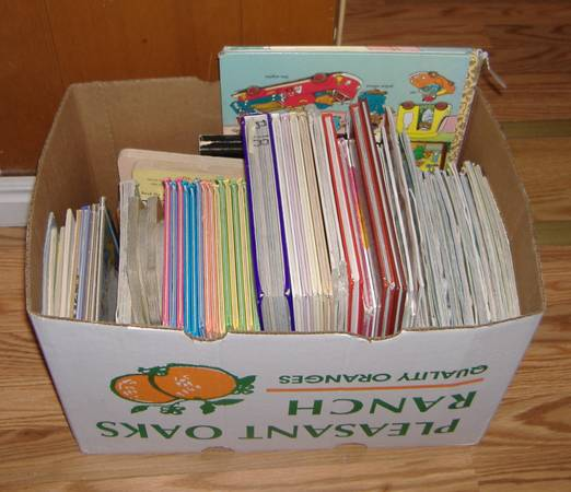 BIG lot of 100 assorted childrens books - $50 (South of BYU)