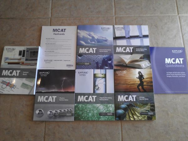 KAPLAN MCAT Prepcourse Full Package - $1400 (Provo, UT)