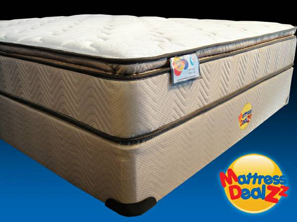 NEW DELUXE Pillow Top Mattresses w 7 yr. NON-Prorated Warranty - $109 (Pleasant Grove - South Jordan - Murray)