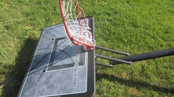 Lifetime 1221 Pro Court Height-Adjustable Portable Basketball System w - $75 (Provo)
