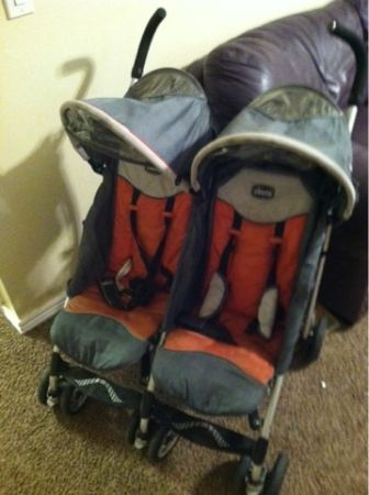 Chicco Trevi Twin Double Stroller - $100 (Orem, It.)
