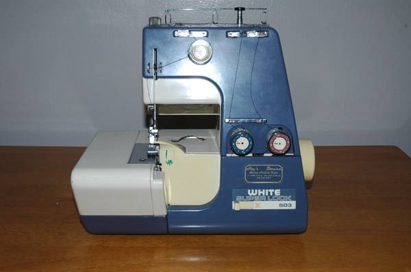 White SuperLock Serger 503W-1 - $30 (Provo)