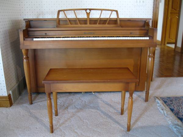 Henry F. Miller Upright Spinet Piano - $450 (Provo)