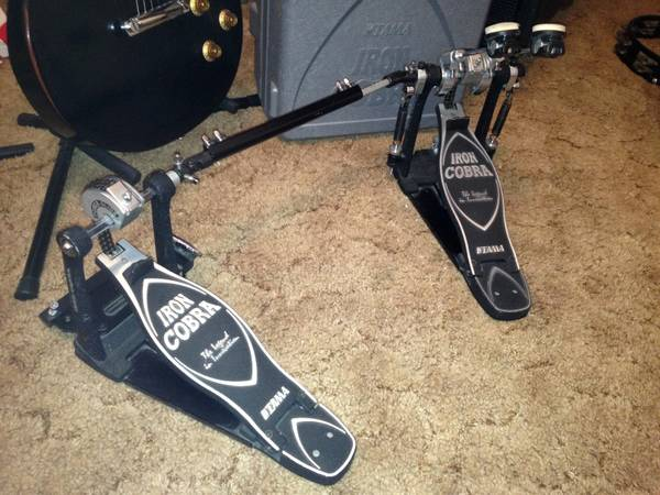 Double Bass Pedal - Tama Iron Cobra - $150 (Spanish Fork)