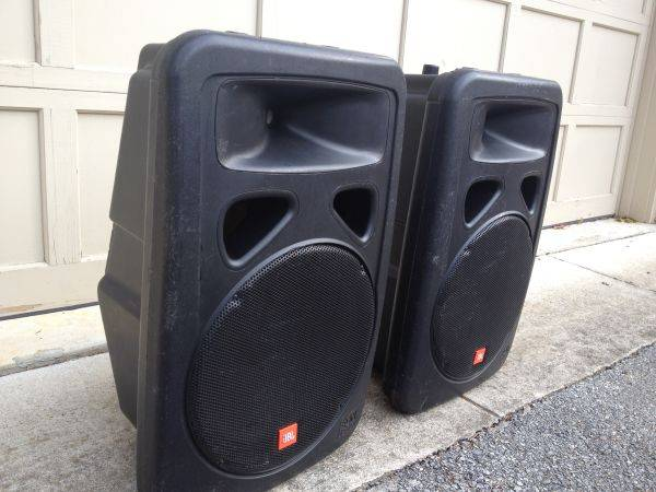 AWESOME pair of JBL 1500 EON speakers. for PA or DJ - $490 (north Provo)