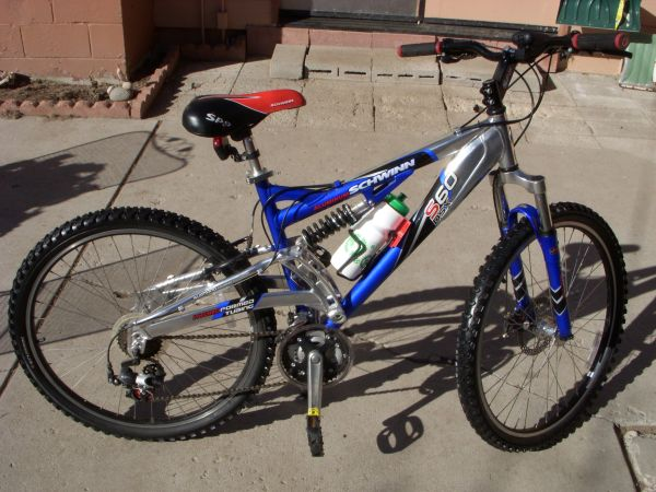 SCHWINN S60, DSX ALUMINUM MTN BIKE FOR SALE - $110 (CARSON CITY, NV)