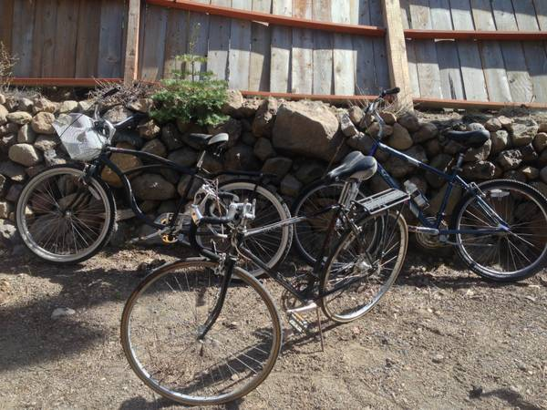 Townie, Burning Man, Commuter Bikes - $50 (Tahoe City, CA)