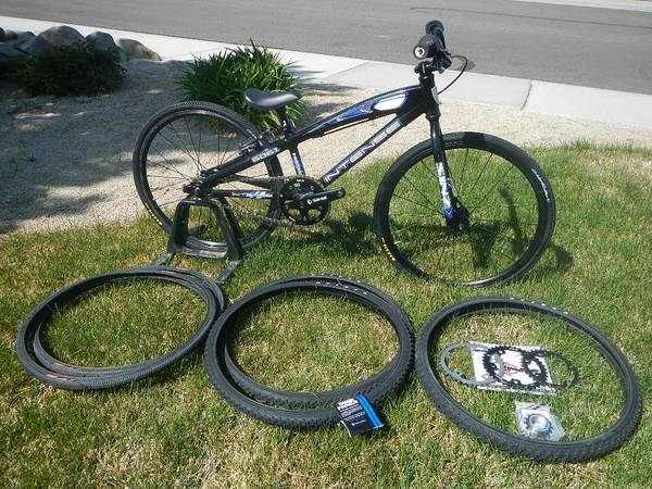 BMX Race bike, Intense Micro M1 Spare parts tires - $350 (NW Reno)