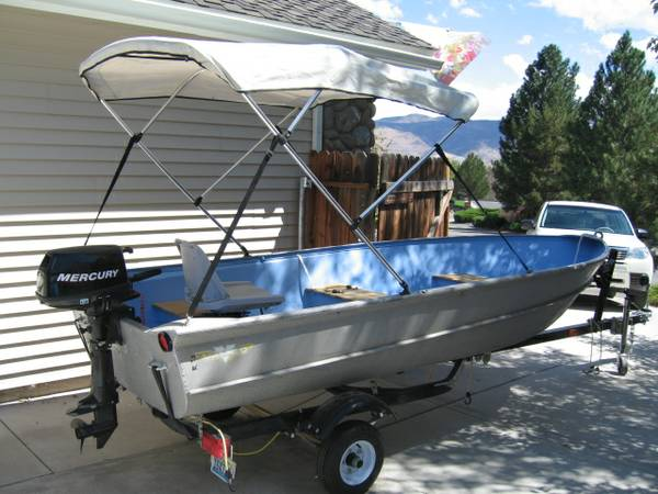 14 Foot Valco Aluminum Fishing Boat - $1500 (Reno South)