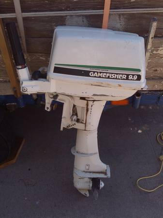 Gamefisher 9.9 electronic ignition outboard motor - $200 (reno sparks)