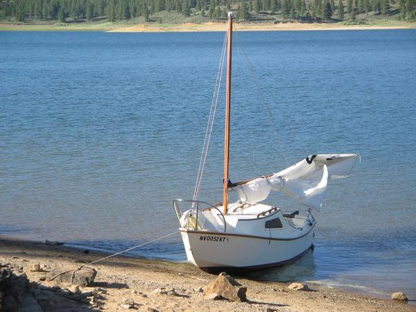 14 Ft. West Wight Potter Sailboat - $2500 (North Reno)