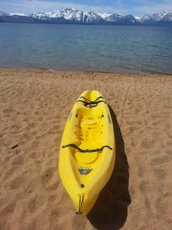 Ocean Kayak Scrambler XT with paddle and seat - $390 (South Lake Tahoe)