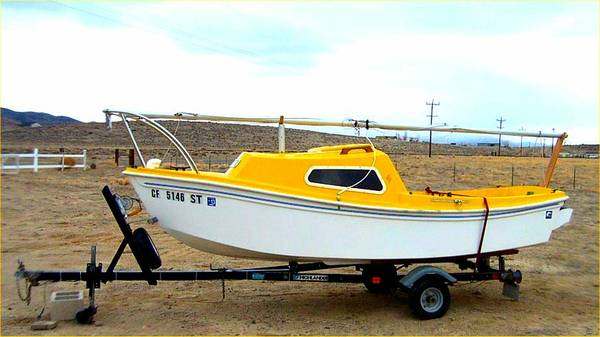 Sailboat, West Wight Potter 15ft. excel. cond. - $4200 (Silver Springs, NV.)