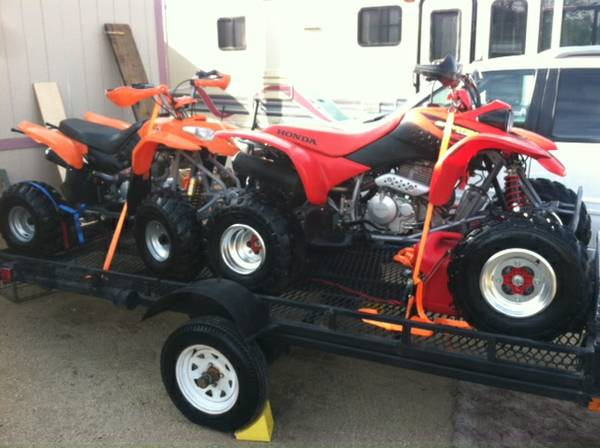 QUADS FOR SALE, (low hrs) - $3999 (sun valley)