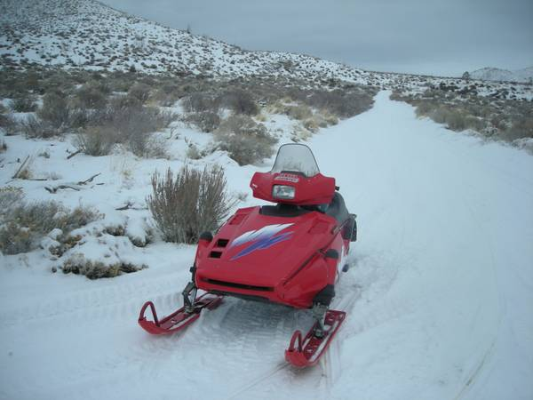 TWO CLASSIC YAMAHA PHAZER SNOWMOBILES FOR SALE - $1200 (SILVER SPRINGS)