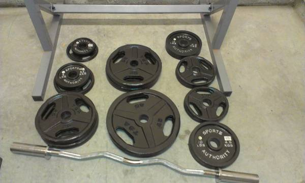 Weights-320 lbs Olympic Plates - $310 (Carson City, NV)