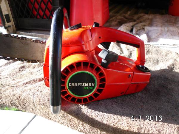 Craftsman 34cc 14 Chainsaw - $80 (Reno, NV. )