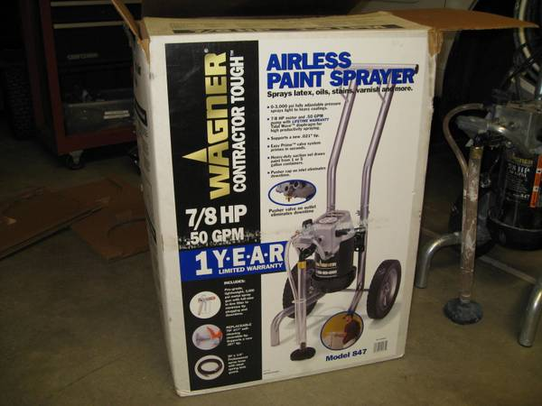 Airless Paint Sprayer - $225 (Sparks)
