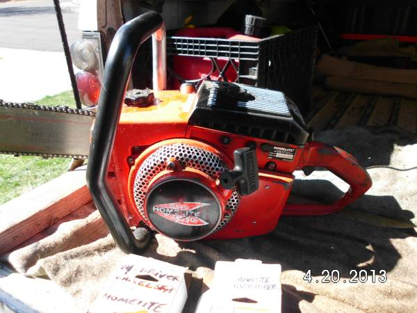Homelite Super 1050 Automatic 100cc 30 Chainsaw - $500 (Reno, NV. )