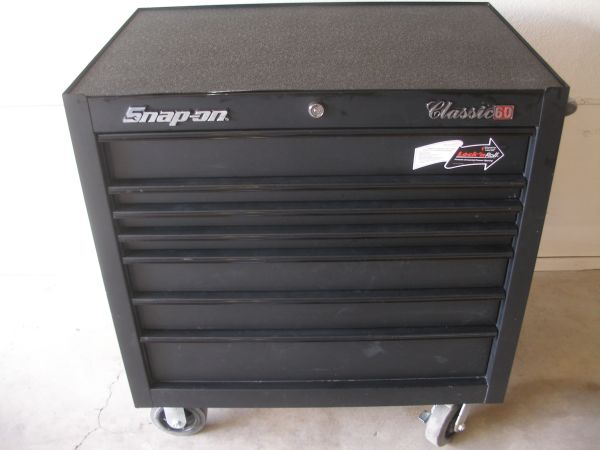 SNAP-ON Roll Cab, Classic 60 7-Drawer Tool Box - $1 (North Reno)