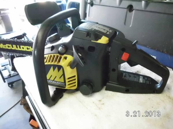 McCulloch MS1838AV 38cc 18 Chainsaw - $125 (Reno, NV. )