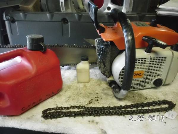 Stihl 056AV Super Electronic 28 Bar Fuel Jug - $475 (RENO)
