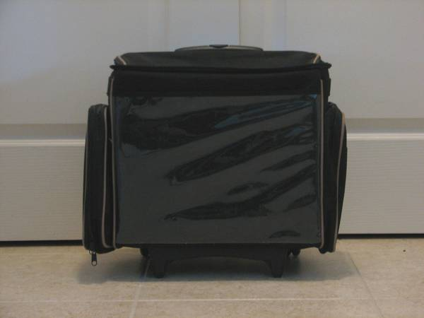 Scrapbooking Case Tote Organizer Luggage Travel Bag on Wheels - $35 (Sparks, NV)
