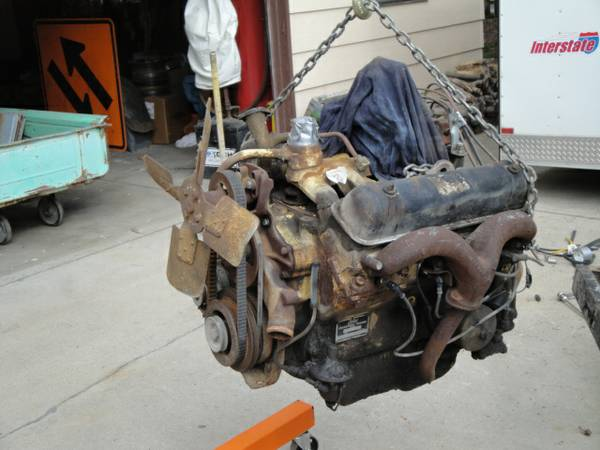Lincoln Y Block engine, bellhousing, complete - $500 (Boise, Idaho)