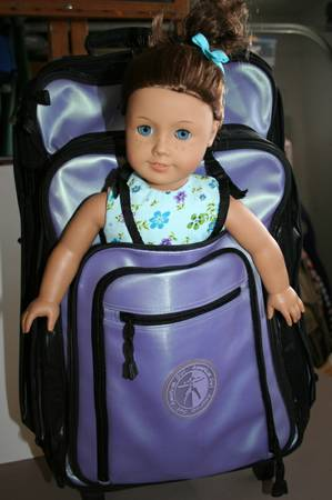 American Girl Travel Suitcase and Backpack - $60 (S. Reno)