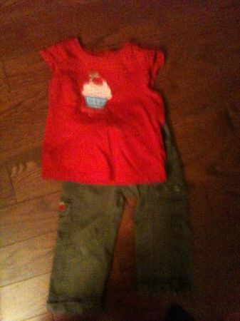 Toddler girls pants shirts coat shoes clothes gymboree - $1 (Sparks nv)