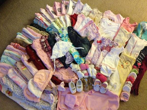 baby girl clothing more - $130 (Sparks)