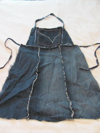 handmade denim items -- potholders, aprons, bags - $5 (south reno)