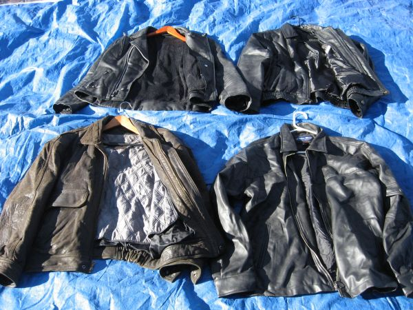 Mens Leather Jackets - $85 (Sparks, NV.)