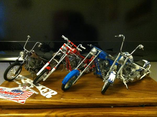 Occ die cast motorcycles - $1 (Carson city)